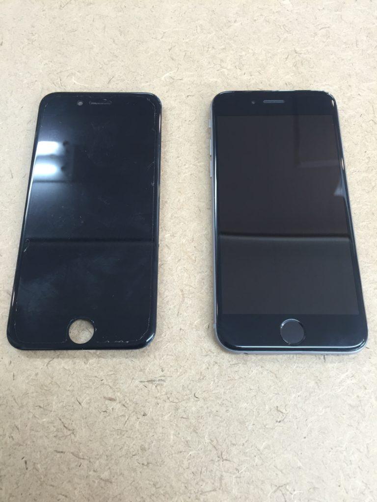 iphone6 液晶不良 6/18