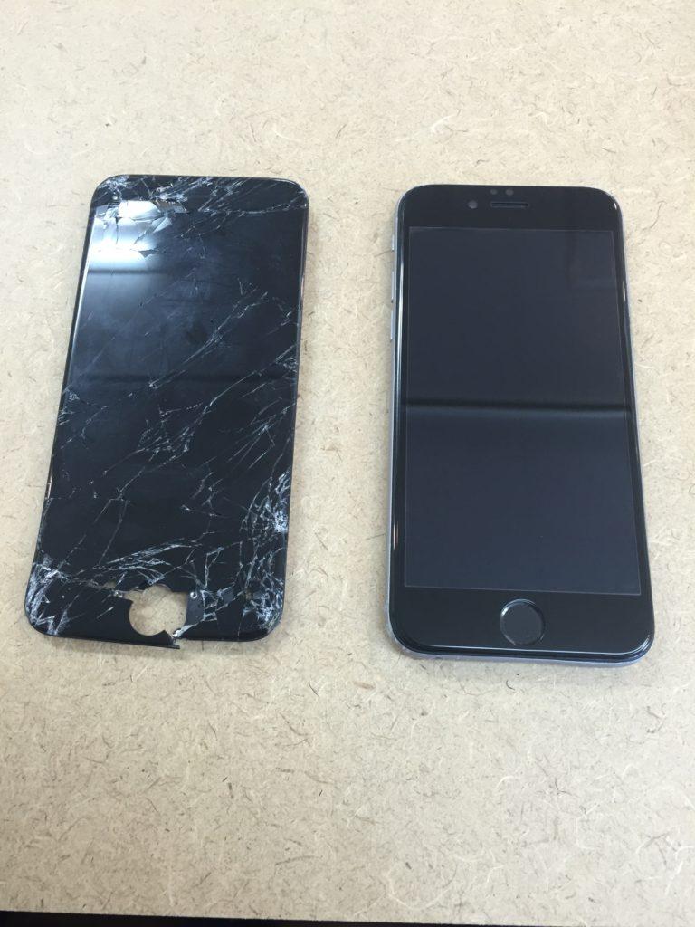 iphone6 画面修理 6/21