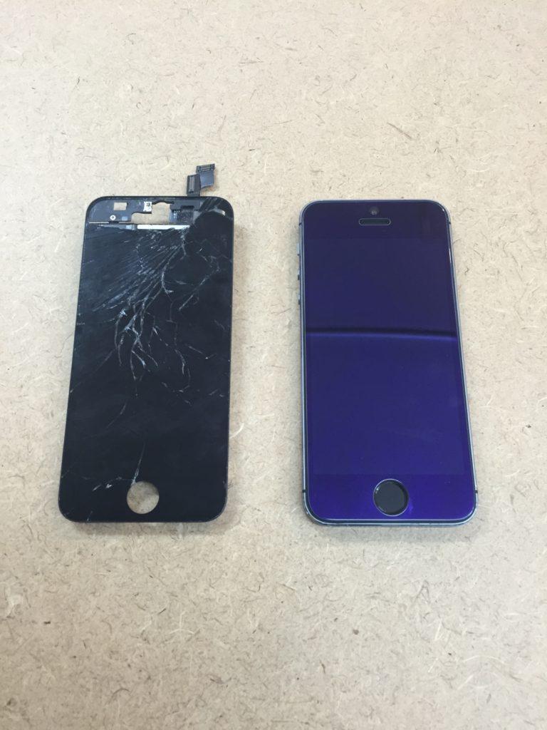 iphone5s 画面割れ修理
