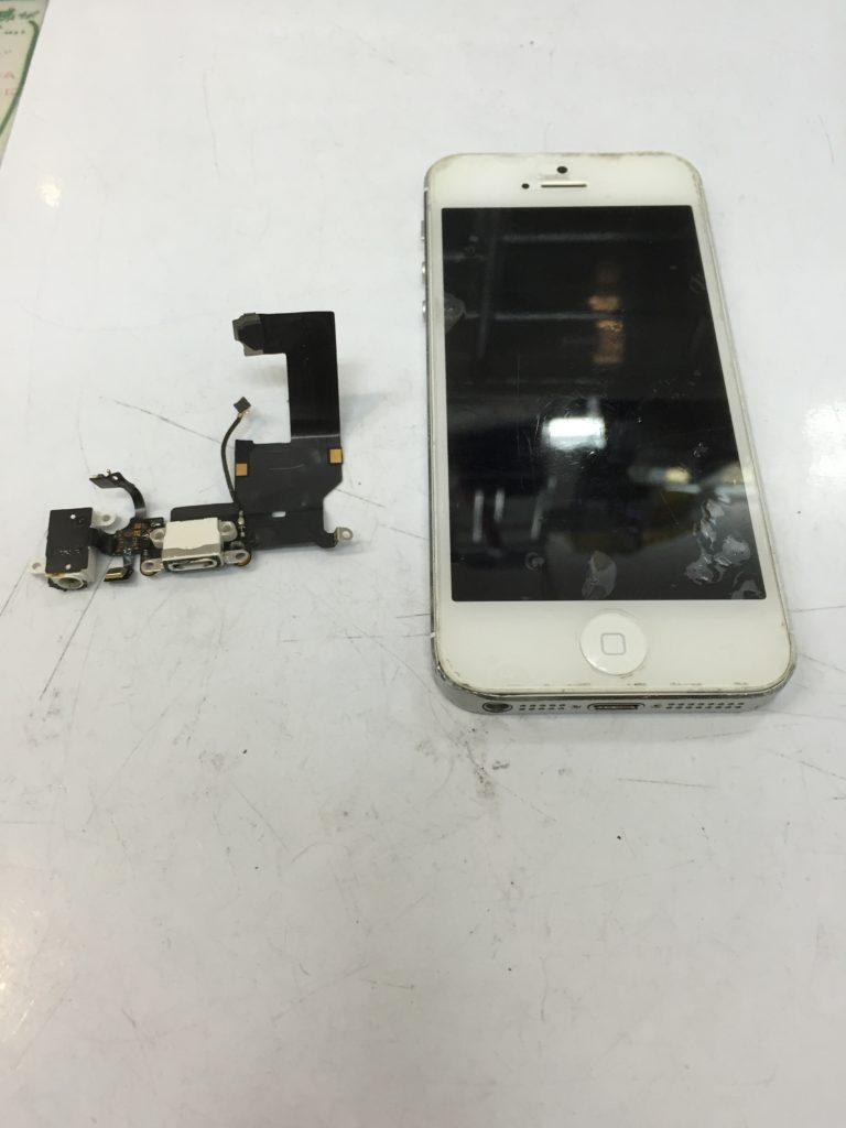 iPhone5 充電不良