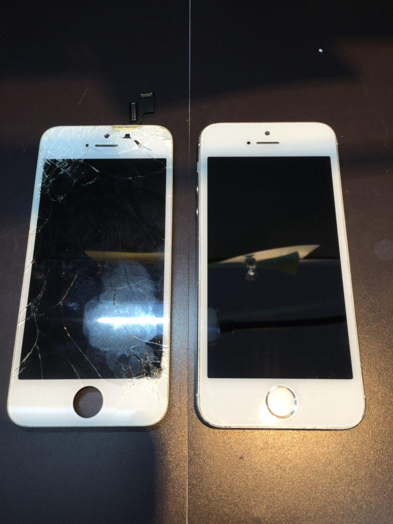 iphone5s画面修理