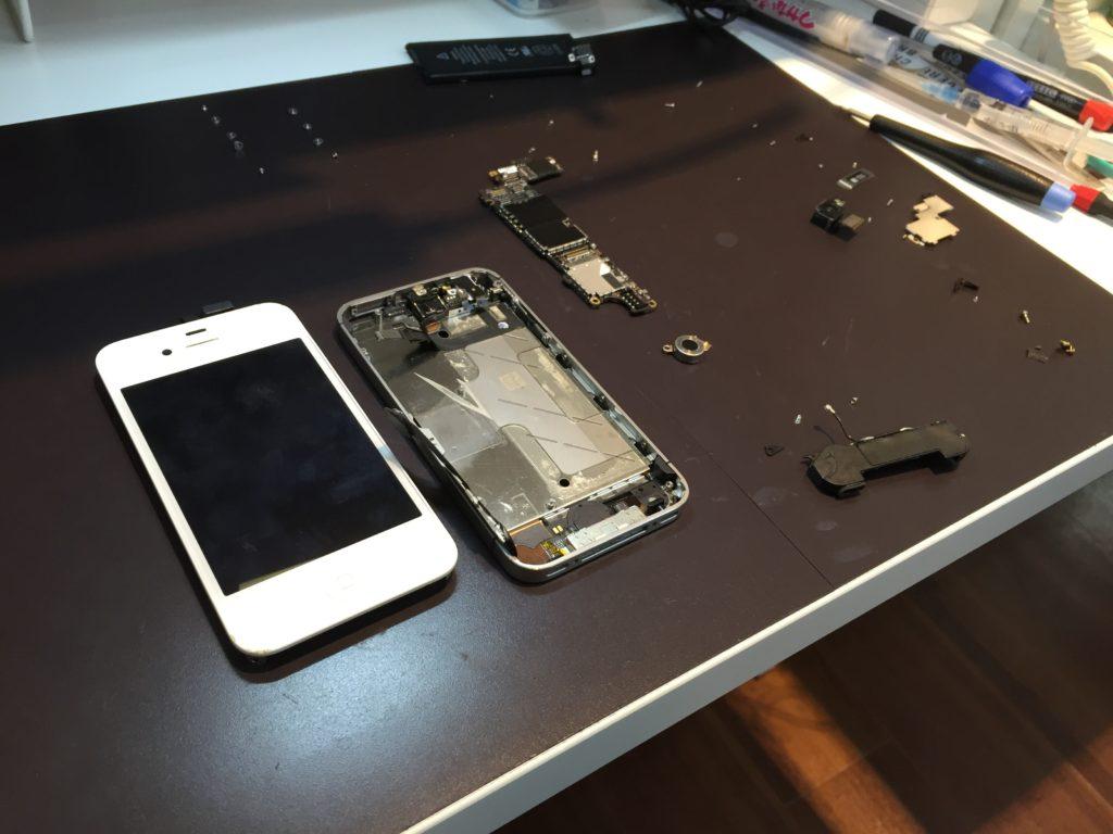 iphone4s画面修理